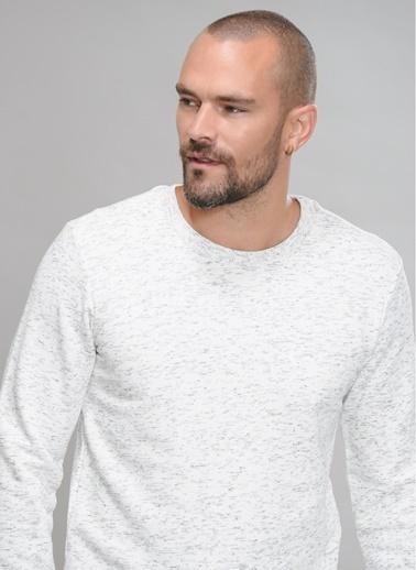 People By Fabrika Sweatshirt Beyaz